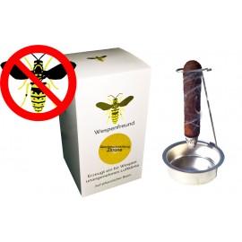 """WESPENABWEHR """"Wespenfreund"""" - die tierfreundliche Alternative zur Wespenfalle und Wespenspray (Zitrone)"""